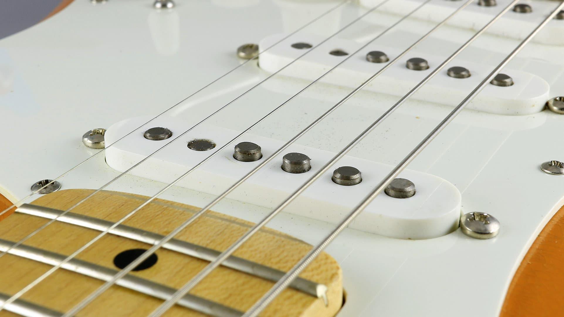 6 Stücke E-gitarre Single Coil Humbucker Pickup Schrauben Federn 3x20mm