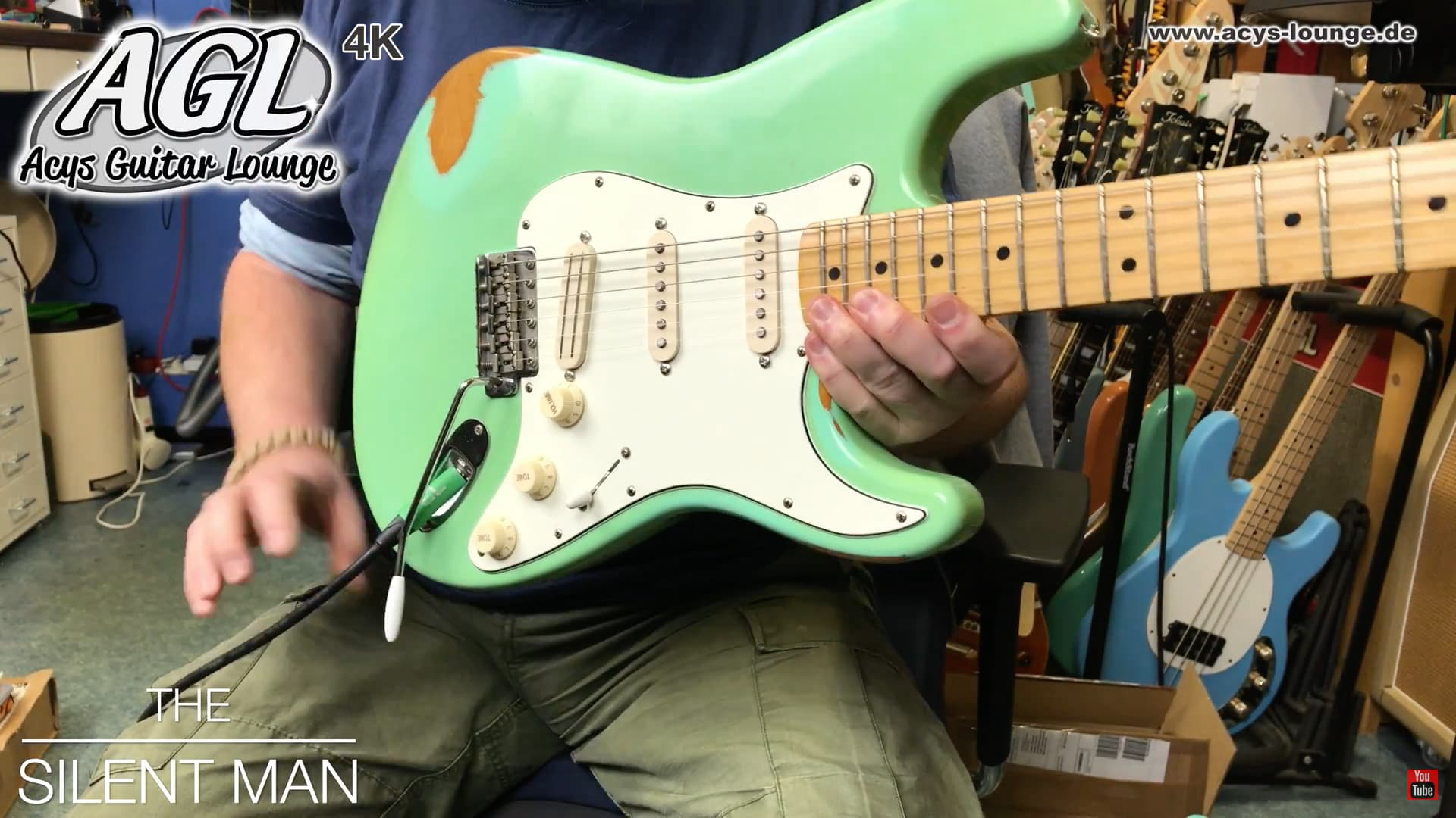 Hss Solo Acys Guitar Lounge Und Hussel Pickups Fat Strat Wiring Fender With Agl